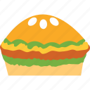 cake, cupcake, dessert, food, sweet, sweets icon