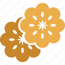 flowers, leaves, salad, salad leaves icon