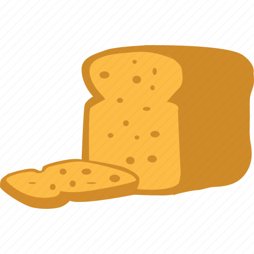 Bread, breakfast, toast, food icon - Download on Iconfinder
