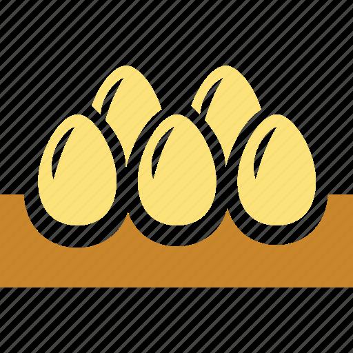 breakfast, eggs, food icon