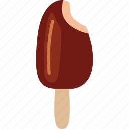 choc bar, chocolate, dessert, food, ice cream, ice cream stick, sweet icon