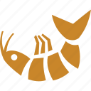 cooked fish, cooking fish, fish, food, seafood icon