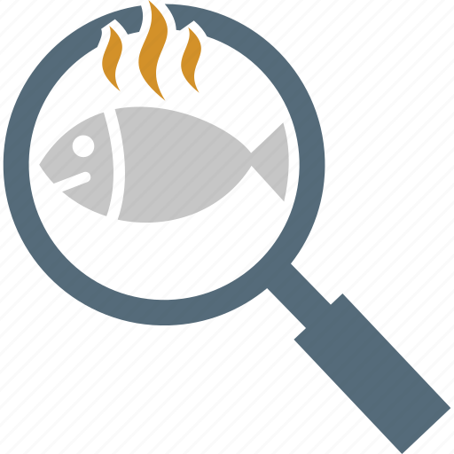 cook, cooking, cooking fish, fish, pan icon