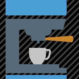 coffee, coffee machine, coffee maker, cup, drink, tea icon