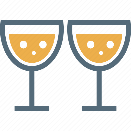 alcohol, celebration, drinks, party, wine, wine glasses icon