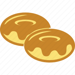 biscuits, breakfast, cookies, donuts, food, sweets icon
