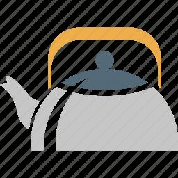 drink, kettle, tea, tea kettle, teapot icon