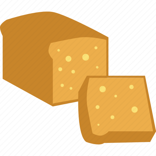 bread, breakfast, food, sweet, toast icon