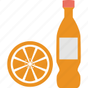 drink, juice, juice bottle, lemon, orange icon