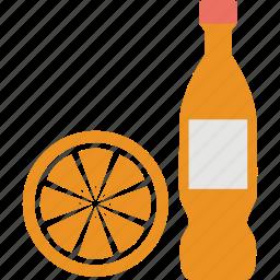 drink, juice, juice bottle, lemon, orange icon