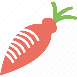 carrot, eating, food, healthy, kitchen, vegetable icon
