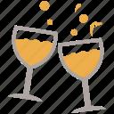 alcohol, bar, celebration, drinks, party, wine, wine glasses