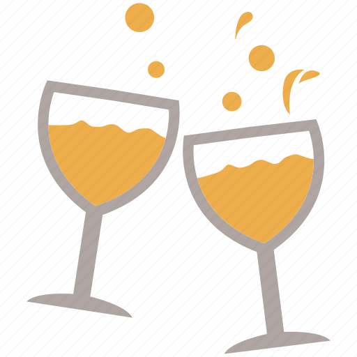 alcohol, bar, celebration, drinks, party, wine, wine glasses icon