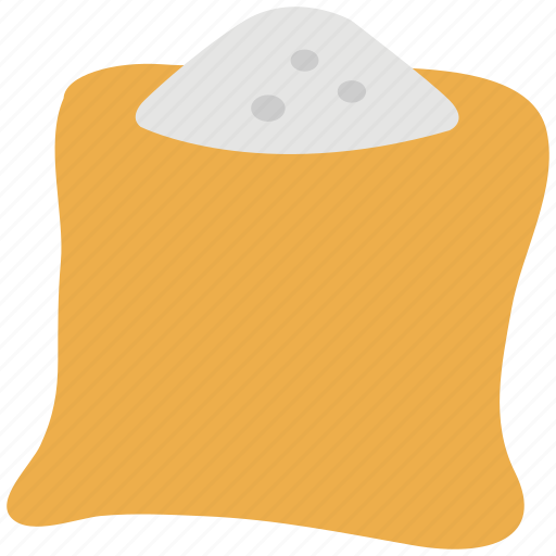 cereal grain, grain, sack of grain, sack of wheat, wheat icon