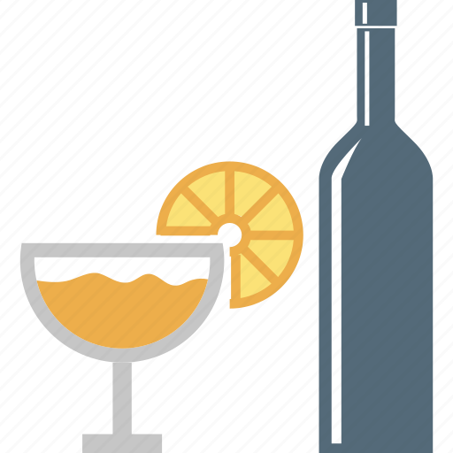 beer, beverage, bottle and glass, cocktail, drink, glass, wine icon