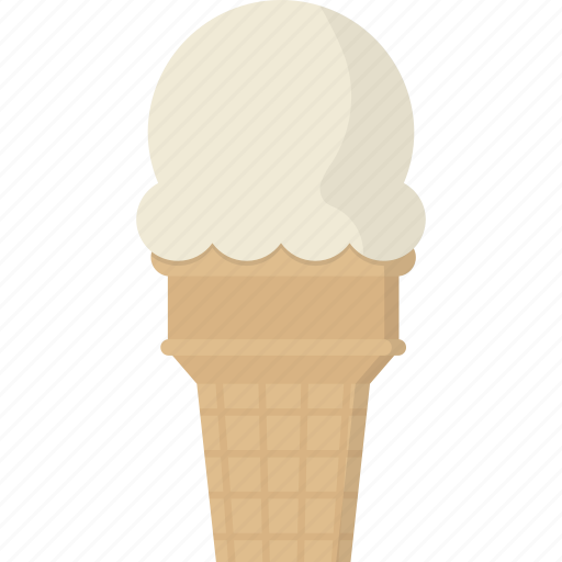 cone, cream, ice, ice cream, ice cream cone icon