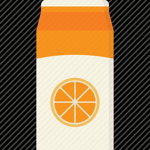 carton, juice, oj, orange, orange juice icon