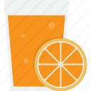 glass, juice, oj, orange, orange juice icon
