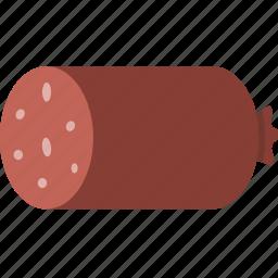 meat, salami, sausage icon