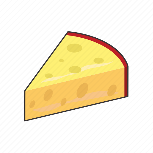 cheese, wedge icon