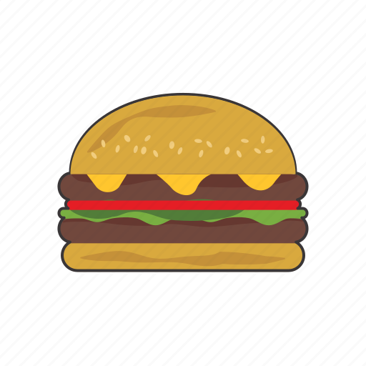Burger, cheeseburger icon - Download on Iconfinder
