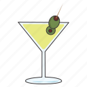 alcohol, drink, martini icon