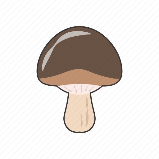 mushroom, vegetable icon