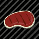 grill, meat, steak