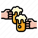 alcohol, beer, brewery, drink, glass icon