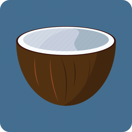 coconut, food, fruit, juice, milk, nutrition icon
