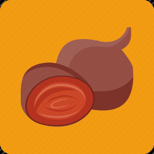 antioxidant, beet, beetroot, food, organic, root, vegetable icon