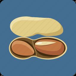 earth-nut, food, hazel, hazelnut, nut, peanut, vegetarian icon