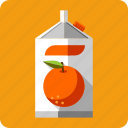 beverage, container, drink, fresh, fruit, juice, orange