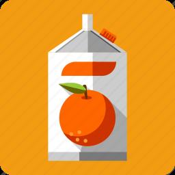 beverage, container, drink, fresh, fruit, juice, orange icon