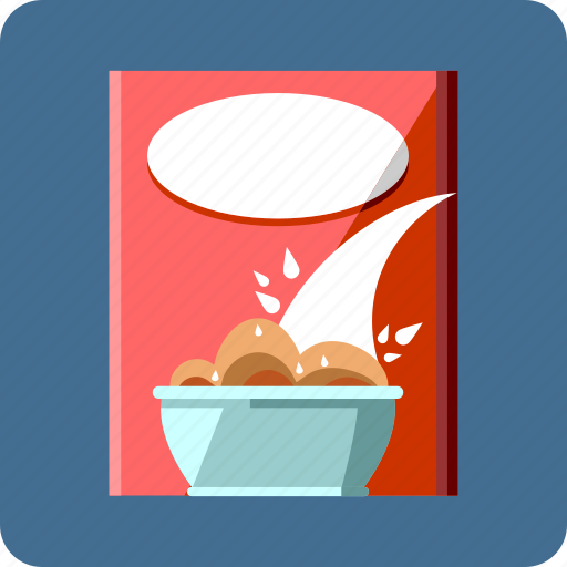 cereal, cornflakes, food, grains, milk, museli, rice icon
