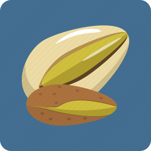 crunchy, food, nut, peanuts, pistachio, vegetarian, walnuts icon