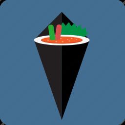 asian, caviar, dinner, fish, food, japanese cuisine, sushi icon