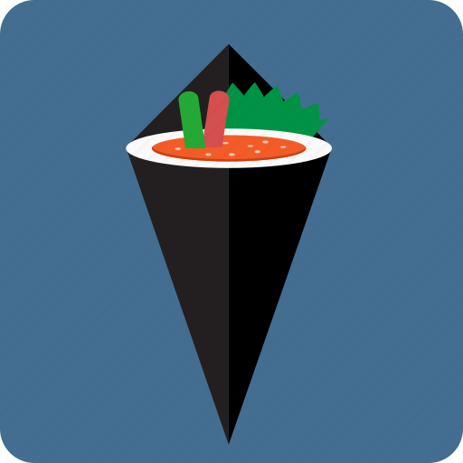 asian, caviar, dinner, fish, food, japanese cuisine, sushi icon