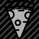 fast food, italian, italian food, pizza, restaurant, slice icon