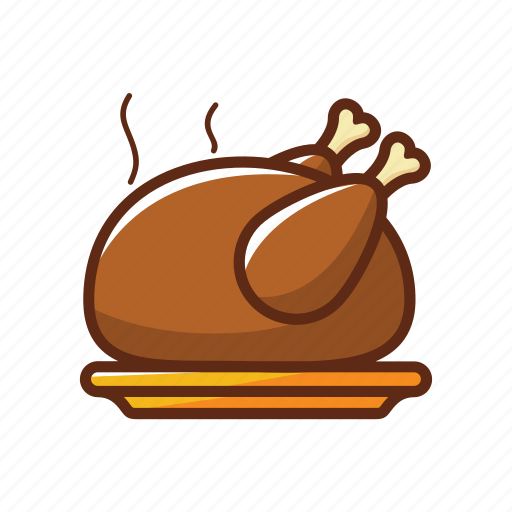 barbeque, chicken, delicious, food, grilled, restaurant, turkey icon