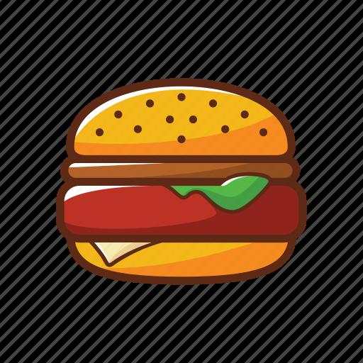 American food, burger, fast food, food, hamburger icon - Download on Iconfinder