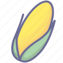 corn, ear, maize icon