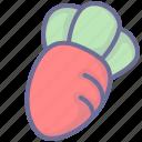 food, radish, vegetables icon