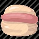 bread, burger, cheeseburger, hamburger icon