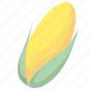 corn, food, maize icon