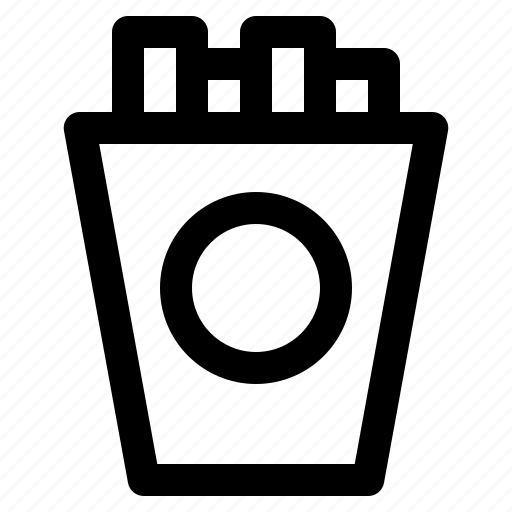 beverage, drink, food, french, fries, fruit, menu icon