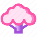 broccoli, food, fruit, health, meat icon
