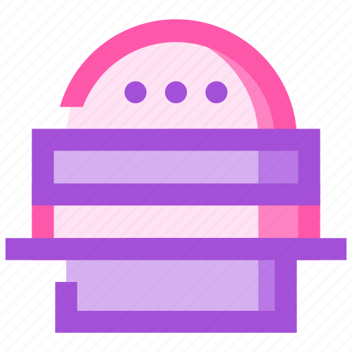 burger, food, fruit, health, meat icon