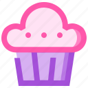 food, fruit, health, meat, muffin icon