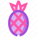 food, fruit, health, meat, pineapple icon
